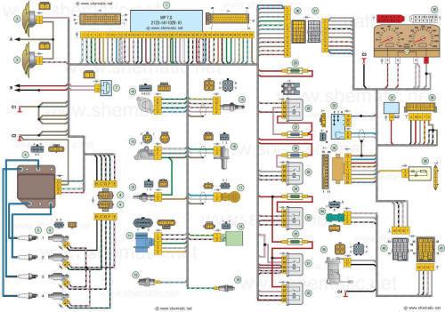 Русская для черчения электрических схем