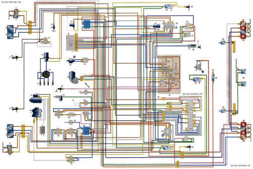 Азлк 2140 схема электро проводкы