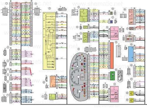 Схема бортовой рлс обзора и пеленгации боевого самолета