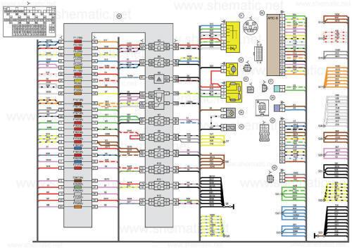 Схемы блоков.  Схема монтажного блока уаз патриот 2010 года 409 двигатель.