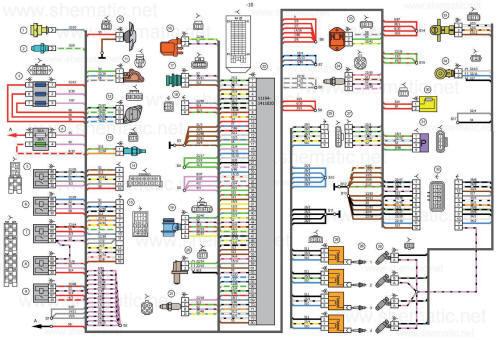 Схема системы отопления лада