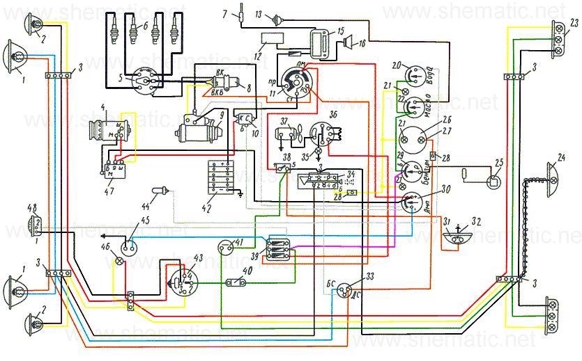 Схема электроники 407