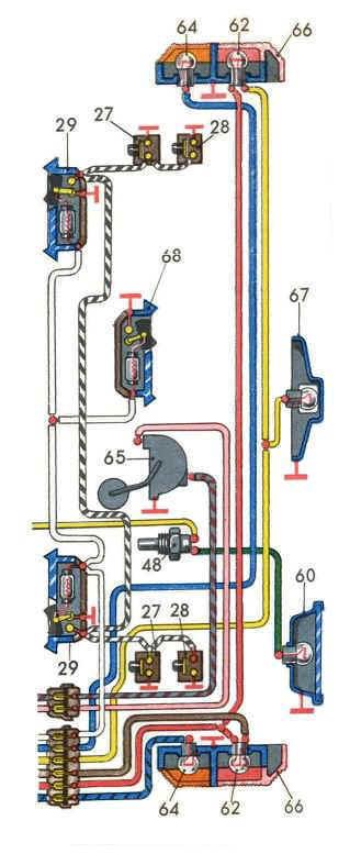 Схемы электрооборудования ВАЗ 21011.