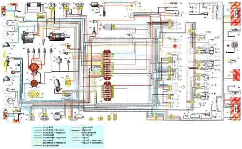 Lt b gt схема lt b gt электрооборудования автомобиля lt b gt ваз lt b gt 21061